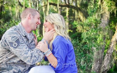 Chase + Megan | Military Couple | Midway Couples Photographer