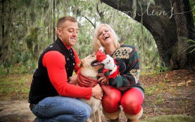 Kaci & Nick | Fort Stewart Photographer | Christmas Mini