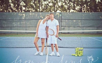 Sean & Natalie | Savannah Engagement Photographer | The Perfect (Tennis) Match