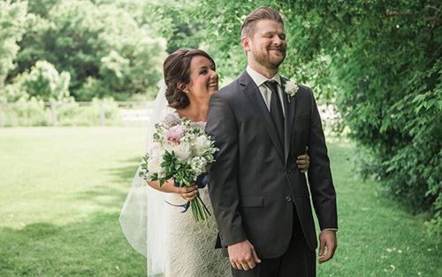 A Dapper Duo   Appleton Wedding Photographer   Trevor & Margaret