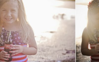 Ft. Stewart Children's Photographer | 4th of July | Ella