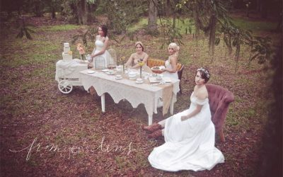 Savannah Inspired Vintage Tea Party | Styled Bridal Shoot
